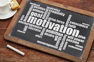 Motivation is a complex psychological state of being.